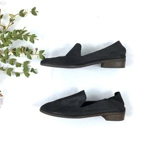 Lucky Brand Cahill Black Leather Flats Size 8.5